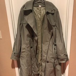 Marine Corps Cold Gear Trench Jacket